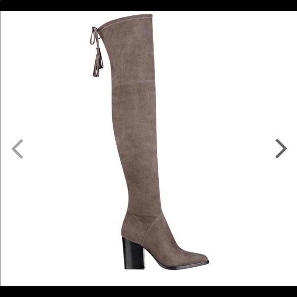 e1aedec792d Marc Fisher Alinda Over the Knee Boots in DK Gray.  M 5a3f0bb145b30c579d0655e6